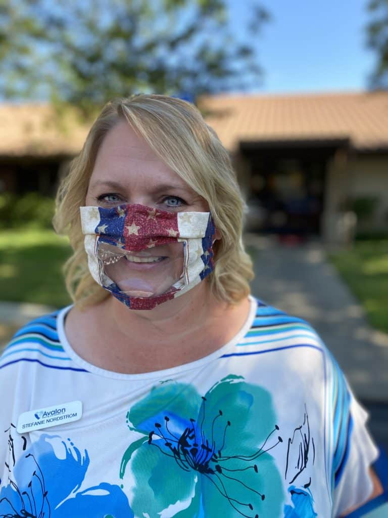 Stefanie Clear Mask